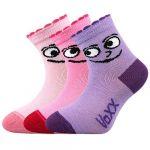 Kojenecké ponožky VoXX Kukik mix B - 3 páry