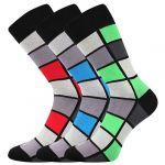 Pánské ponožky LONKA Wearel 024 mix A - 3 páry