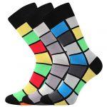 Pánské ponožky LONKA Wearel 024 mix B - 3 páry