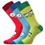 Pánské ponožky LONKA Wearel 025 mix B - 3 páry