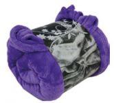 NOVIA deka mikroflanel fialová