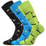Pánské ponožky LONKA Depate mix N - 3 páry