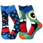 Ponožky Boma Ksichtik mix A