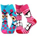 Ponožky Boma Ksichtik mix B