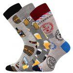 Ponožky LONKA Woodoo mix A1 - 3 páry