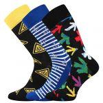 Ponožky LONKA Woodoo mix B1 - 3 páry