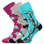Ponožky LONKA Woodoo mix E1 - 3 páry