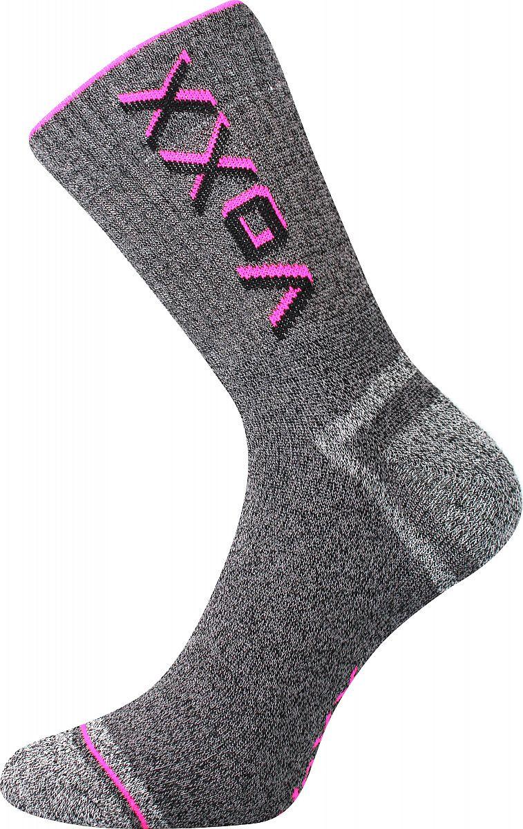 Ponožky VoXX Hawk neon růžová