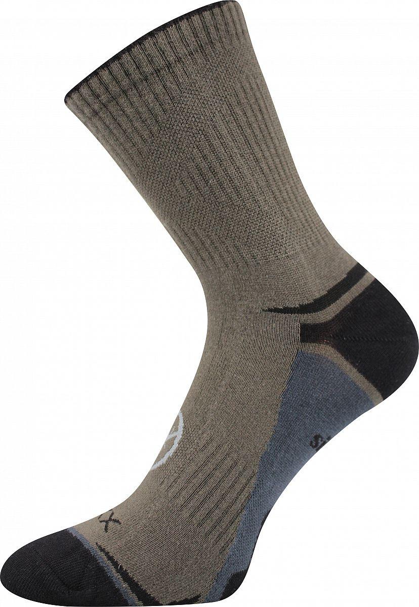 Ponožky VoXX Optifan khaki