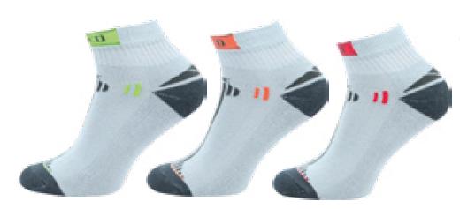 Sportovní ponožky NOVIA Speed šedá
