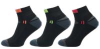 Sportovní ponožky NOVIA Speed černá