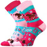 Dětské ponožky Boma Horsik - 3 páry