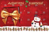 DĚTSKÝ ponožkový ADVENTNÍ kalendář OBRÁZKOVÉ PONOŽKY