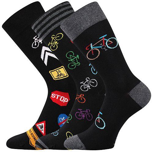 Pánské ponožky LONKA Depate mix R - 3 páry