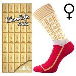 Ponožky LONKA Chocolate white