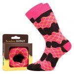 Ponožky LONKA Donut vzor 1