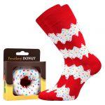 Ponožky LONKA Donut vzor 4