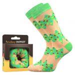 Ponožky LONKA Donut vzor 6