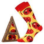 Ponožky LONKA Pizza Pepperoni