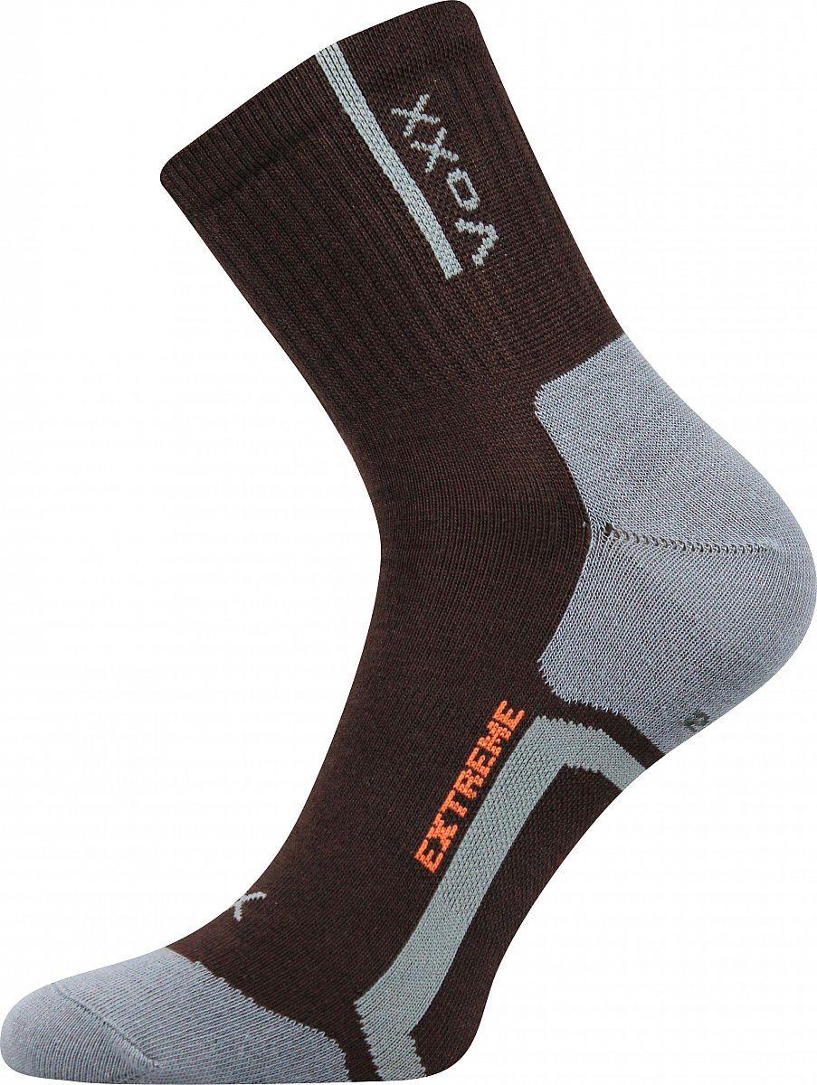 Ponožky VoXX Josef hnědá
