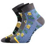 Ponožky VoXX Piff 01 vzor pivo - 3 páry