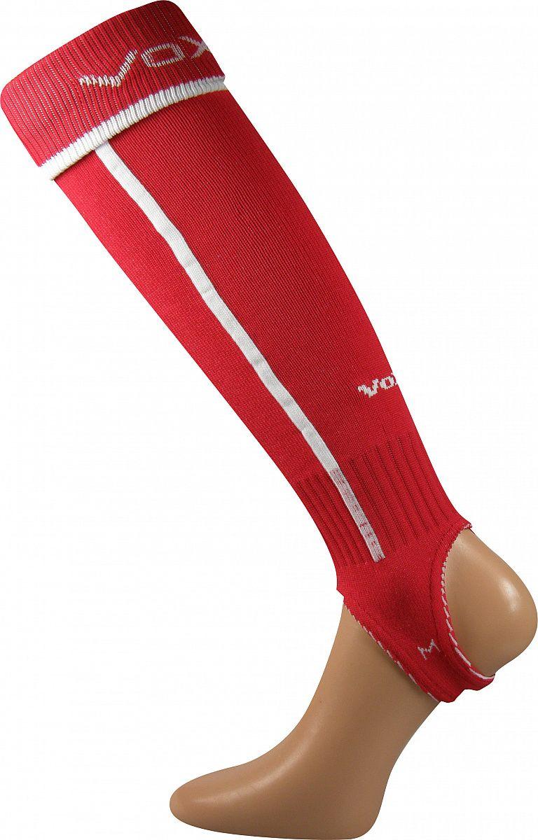 Fotbalové podkolenky VoXX Štulpny s podpínkou červená senior XL
