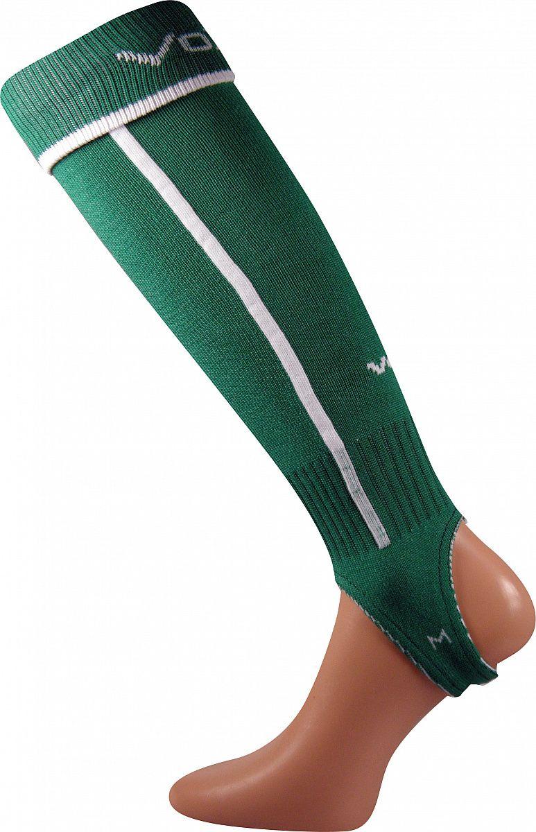 Fotbalové podkolenky VoXX Štulpny s podpínkou zelená senior XL