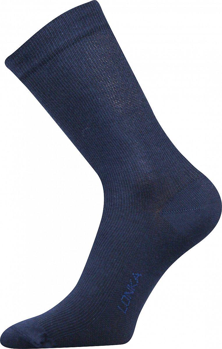 Kompresní ponožky LONKA Kooper tmavě modrá
