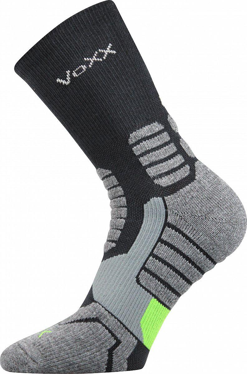 Kompresní ponožky VoXX Ronin tmavě šedá