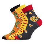 Ponožky LONKA Weels mix B - 3 páry
