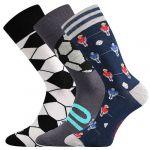 Ponožky LONKA Woodoo mix S - 3 páry