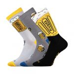 Ponožky VoXX PiVoXX 3 páry mix barev