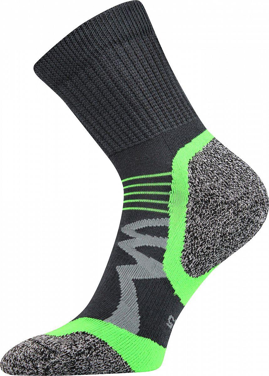 Ponožky VoXX Simplex tmavě šedá