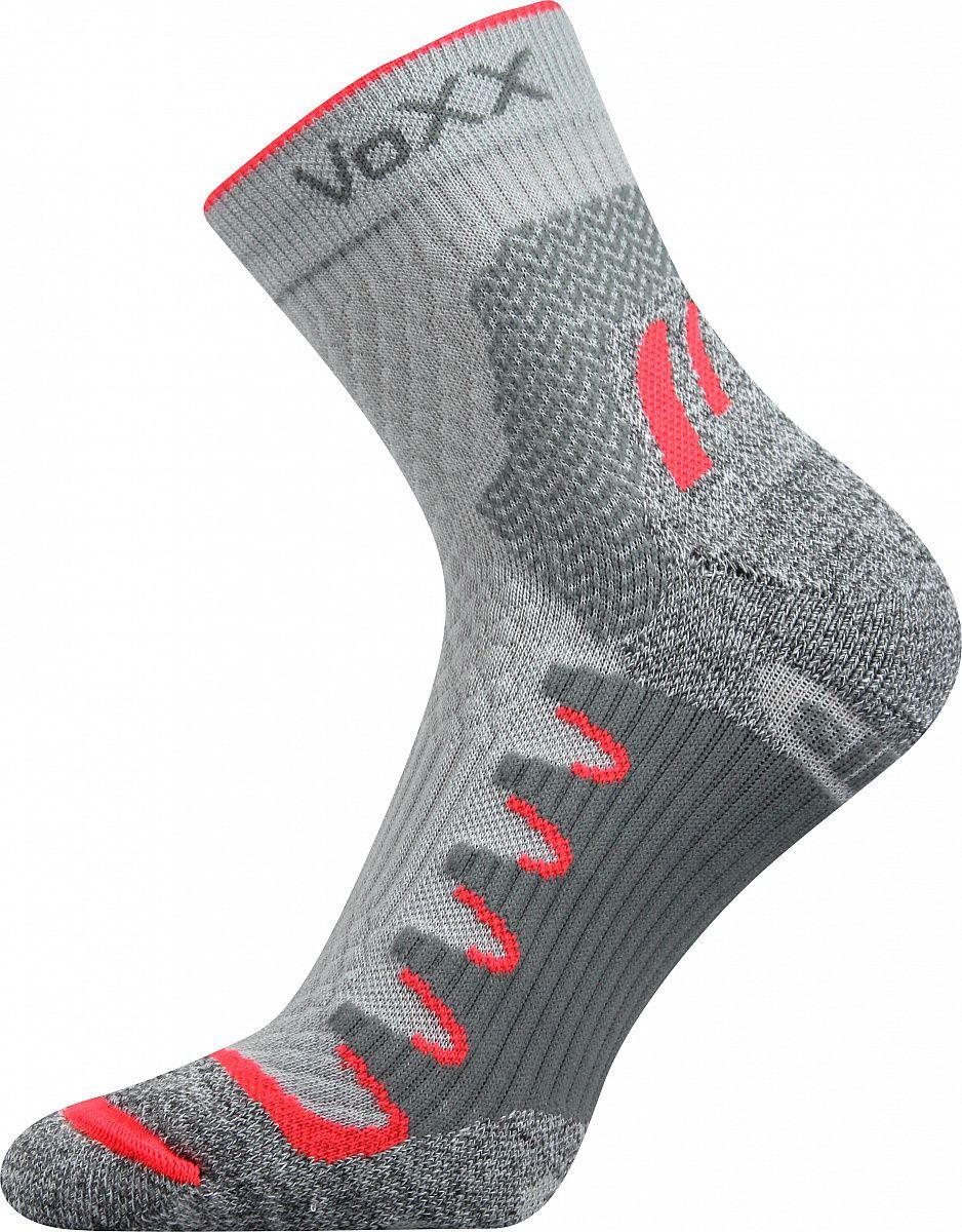 Ponožky VoXX Synergy světle šedá