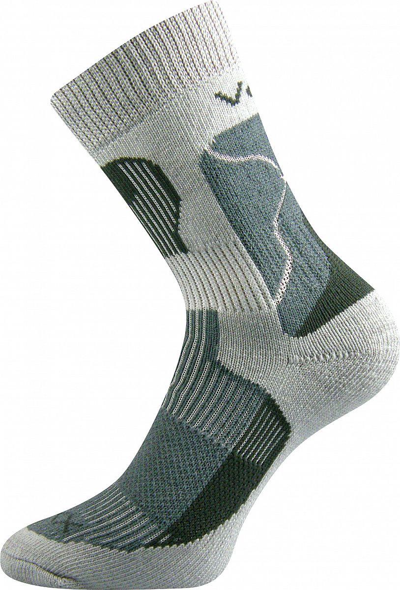 Ponožky VoXX Treking světle šedá