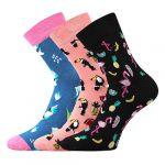 Dámské ponožky Boma Xantipa mix 66 - 3 páry