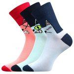 Dámské ponožky Boma Xantipa mix 67 - 3 páry