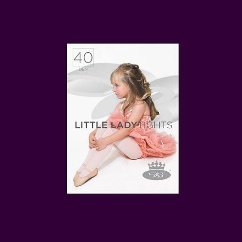 Dívčí punčochové kalhoty Boma LITTLE LADYtights royal purple