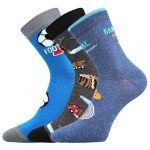 Dětské ponožky Boma 057-21-43 XI mix B - 3 páry