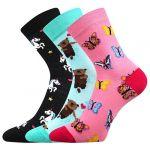 Dětské ponožky Boma 057-21-43 XI mix C - 3 páry