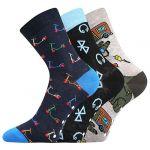 Dětské ponožky Boma Filip 03 ABS mix A - 3 páry