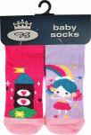 Dětské TRENDY ponožky Boma Dora HRAD A PRINCEZNA