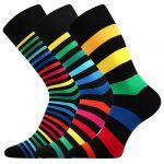 Pánské ponožky LONKA Deline 3 páry mix barev II