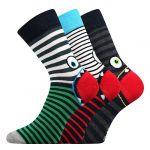 Ponožky Boma Ksichtik mix C
