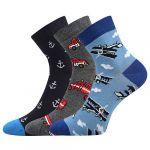 Ponožky LONKA Dedotik mix A - 3 páry
