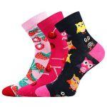 Ponožky LONKA Dedotik mix B - 3 páry