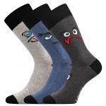 Ponožky LONKA Woodoo mix G1 - 3 páry
