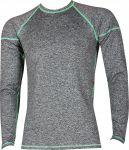 VoXX funkční prádlo Solid 01 - pánské tričko dlouhý rukáv melé