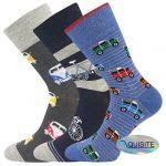 Pánské ponožky LONKA Harry mix D - 3 páry