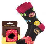 Ponožky LONKA Donut vzor 1a